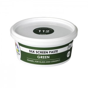 Green-silk-screen-paste